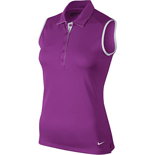 Nike Victory Colorblk S/L Polo - Camiseta sin Mangas para Mujer ...