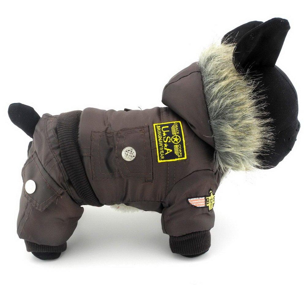 per Cane Extra Large Giubbino Blu L PALMFOX Giacca Impermeabile Cappotto per Cani,Cappotto di Pioggia
