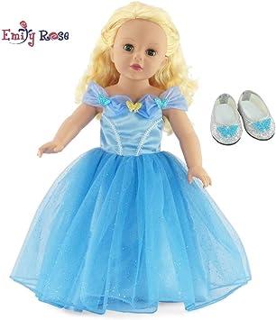 Amazon.com: Fabuloso vestido de bola inspirado en Cenicienta ...