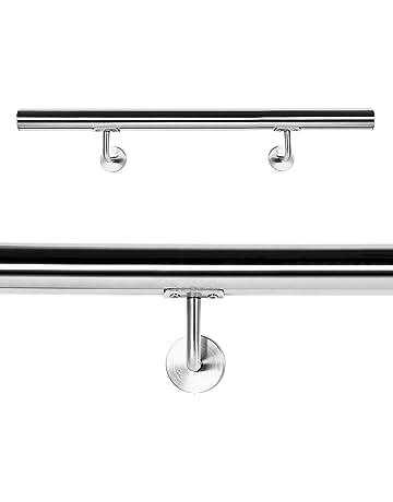 Pasamanos Barandilla Barandas 110cm Escalera Acero Inox V2A