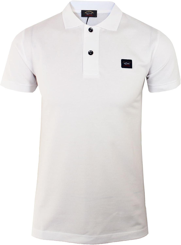 Paul & Shark - Polo para hombre, color blanco Blanco blanco XXL ...