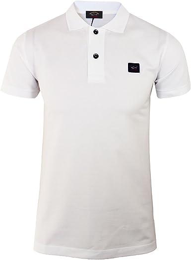 Paul & Shark - Polo para hombre, color blanco Blanco blanco L ...