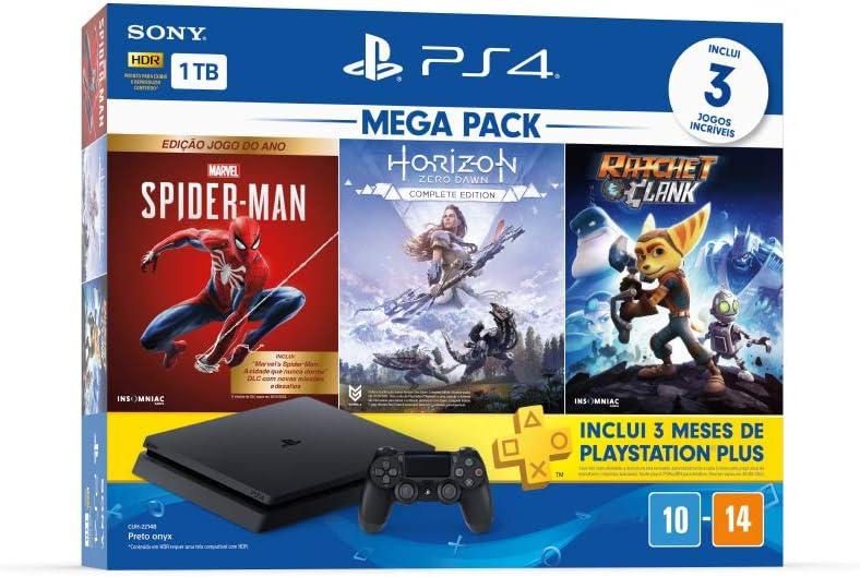 Console PlayStation 4 Mega Pack