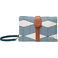 JJ Cole Changing Clutch, Navy Twine