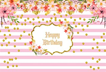 Amazon.com: OFILA Happy Birthday Backdrop 5x3ft Photography ...