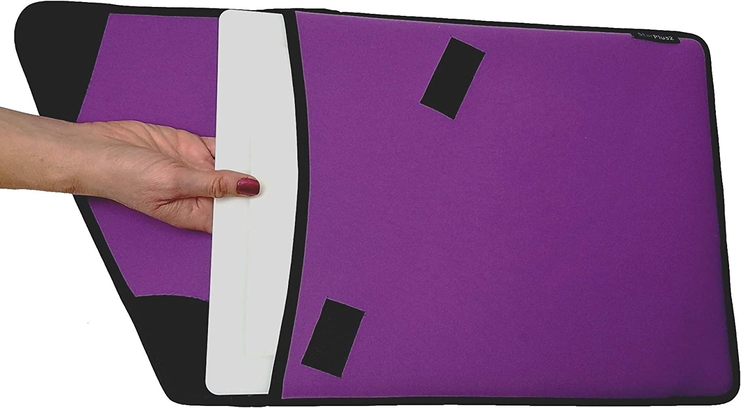 StarPlus2 Protective Case for Cricut Bright Pad Tracing Light Board Gray with Black Trim Fitted Thick Neoprene Sleeve