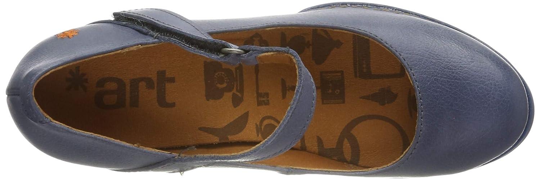 Scarpe col Tacco Punta Chiusa Donna Art 0933 Memphis Total Artic//Harlem
