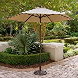 Hanover TRADITIONSUMB Patio Market Umbrella, Tan