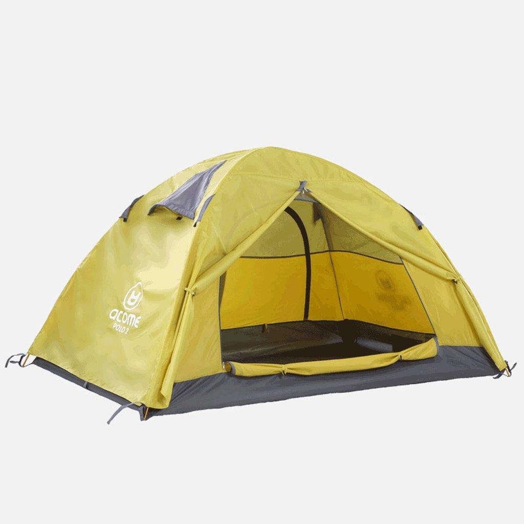 QAR Outdoor Vier Jahreszeiten Doppel-Doppel-Berg Camping Camping Wasserdichtes Zelt Zelt