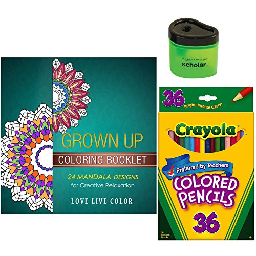 Grown Coloring Book Starter Gift