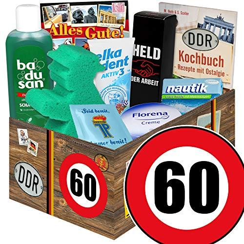 60. Geburtstag / lustige Geschenke zum 60 / DDR Pflegeset