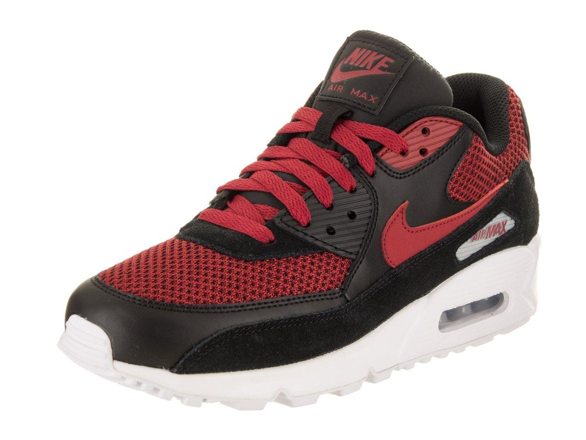 Nike Air Max 90 Essential 537384076, Turnschuhe  45.5 EU|Schwarz (Black/Tough Red)
