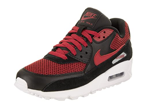 Air MAX 90 Premium, Zapatillas para Hombre, Negro (Black/Black White), 44 EU Nike