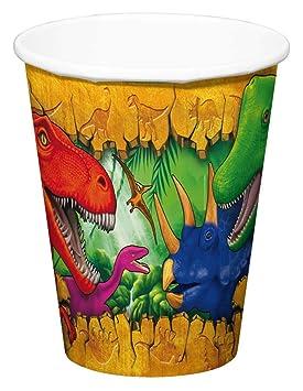 Folat Dinosaurios Vasos, 6 Unidades