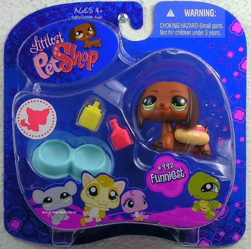 Littlest Pet Shop Assortment 'B' Series 3 Collectible Figure Dachshund