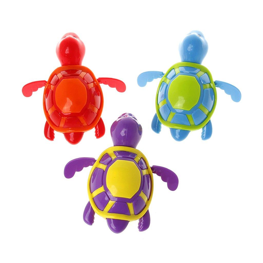 Lamdoo Süßes Schwimmschildkröten-Spielzeug für Babys, Kinder, Badewanne