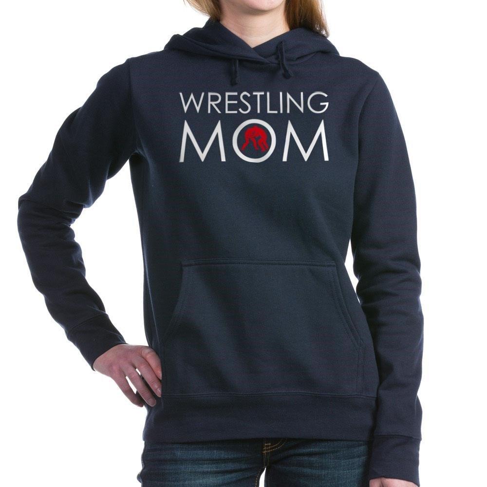CafePress - Wrestlig Mom Women's Hooded Sweatshirt - Pullover Hoodie, Classic & Comfortable Hooded Sweatshirt