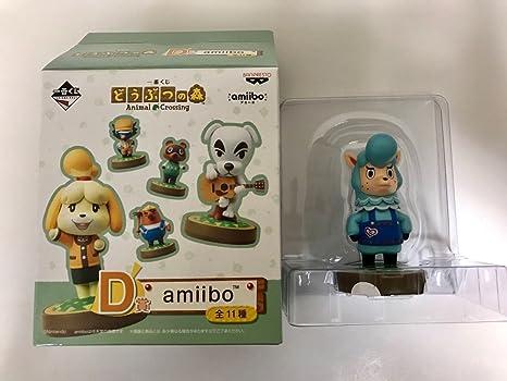 Amazon com: Ichibankuji Animal Crossing D Award amiibo Kaizo: Toys
