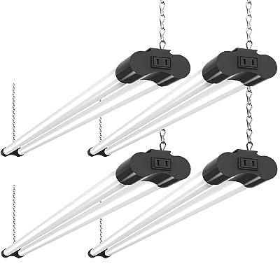 Bbounder 4 Pack Linkable LED Utility Shop Light