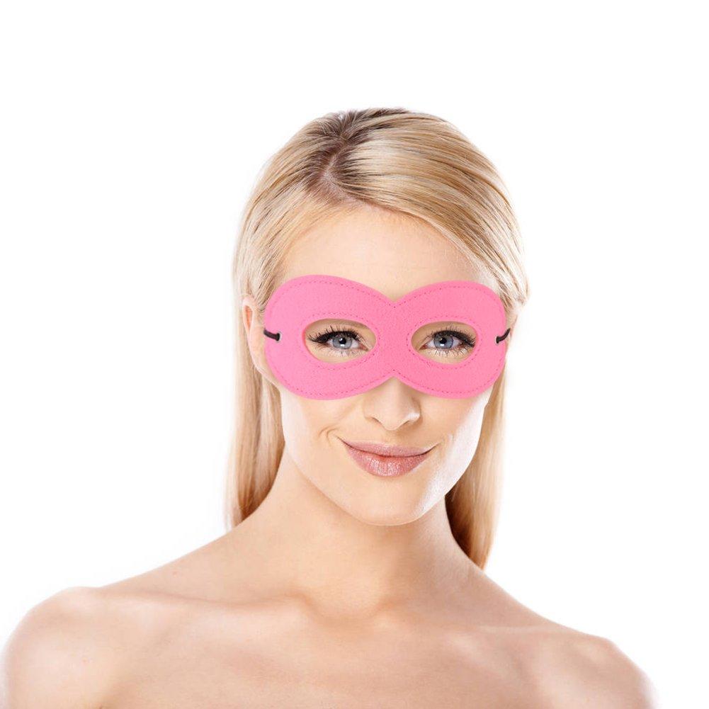 LOAVER 12 Pieces Felt Masks Superhero Cosplay Eye Masks Superhero Party Favor Masks with Elastic Ropes for Kids Multicolor