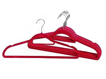Kleider Aufhängen Stange home regal zum aufhängen für hose kleidung velours beflockt