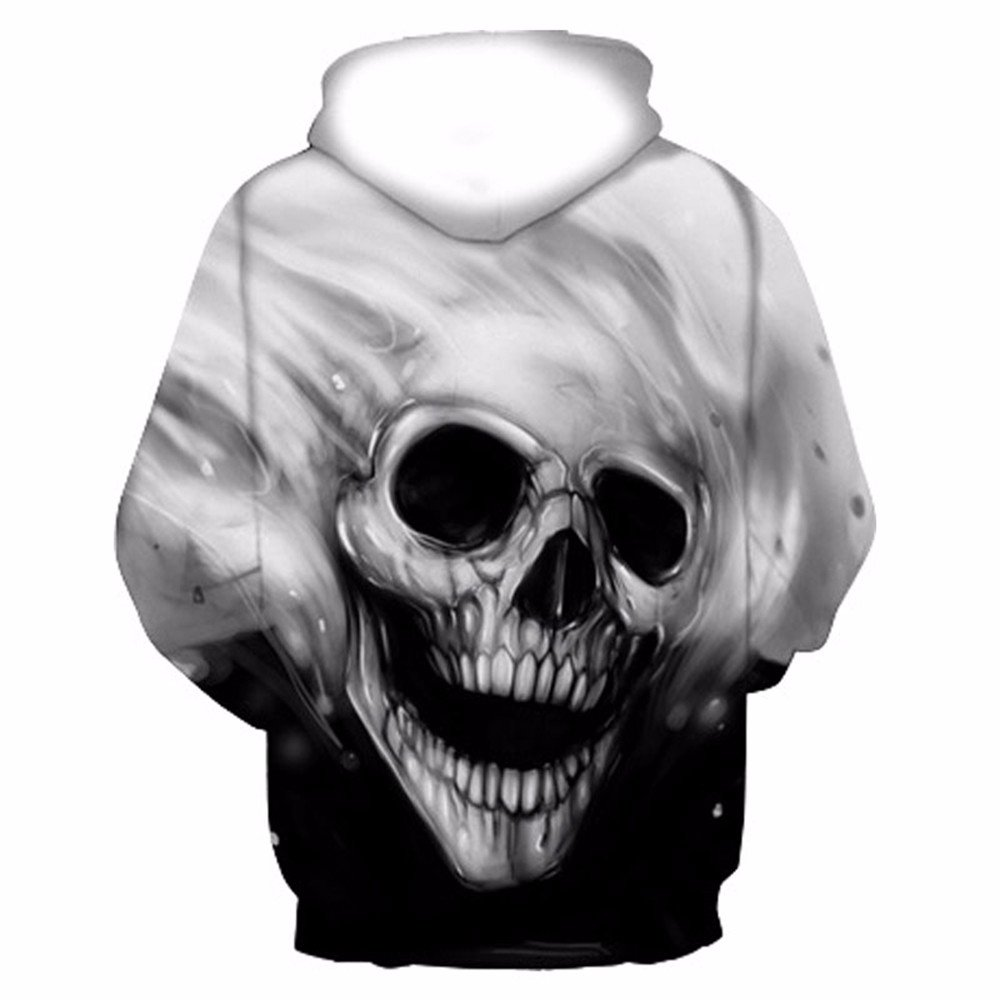 Amazon.com : CCHD Fashion Skulls Sweatshirts Men Women Thin Fashion 3D Hoodies Print Skulls T-Shirt Hooded HoodiesAutumn Spring with Hat : Sports & Outdoors