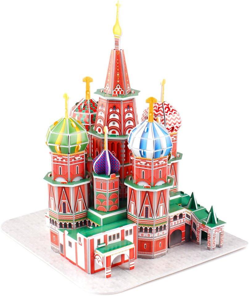 CubicFun Puzzle 3D Russia St. Basils Cathedral Rompecabezas 3D ...