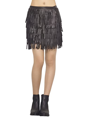 iB-iP - Falda - ajustado - para mujer Negro negro X-Small