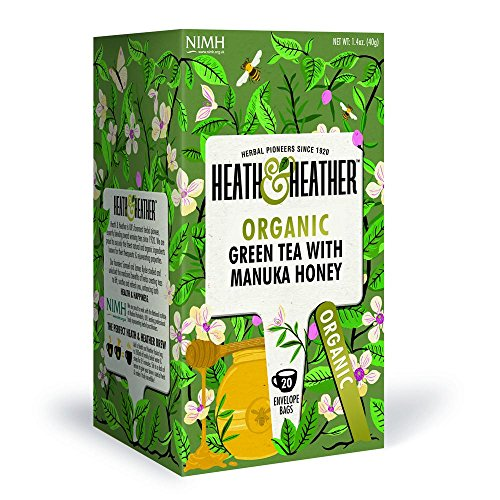 Heath & Heather Organic Green Tea & Manuka Honey (Pack of 3) Review