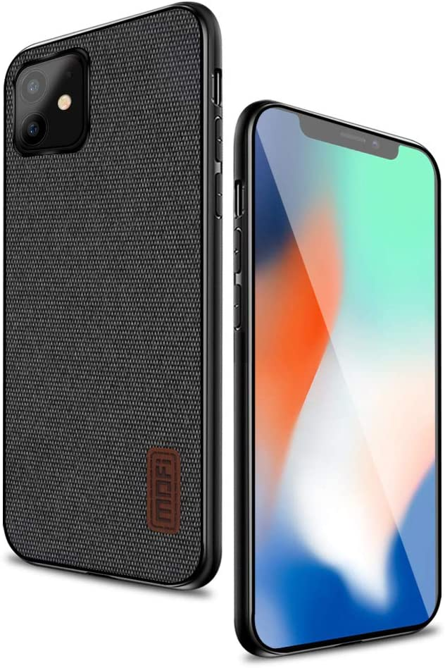 """MOFI iPhone 11 Case, Thin Slim Hard Case with Smooth Surface only for Apple iPhone 11(6.1"""")-Black"""