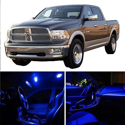 2002 Dodge Ram 1500 Accessories >> Amazon Com Cciyu Led Bulb Led Interior Lights 10pcs Blue