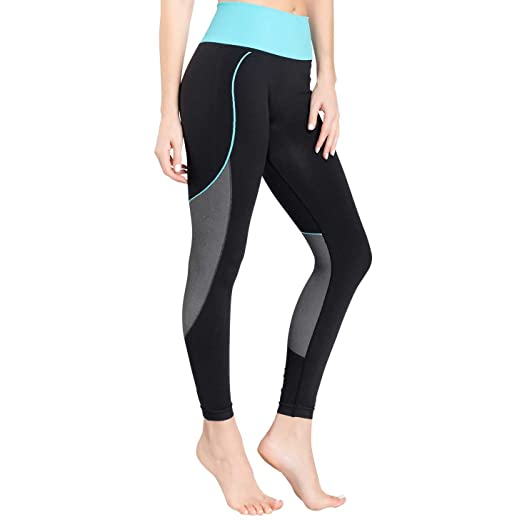 38ebe5f3d9 Amazon.com : Zensah Womens High Waisted Tights - Workout Running  Compression Tights, Yoga Tight, Best Tight : Clothing