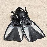 CAPAS Swim Fins, Snorkel Fins with Travel Size