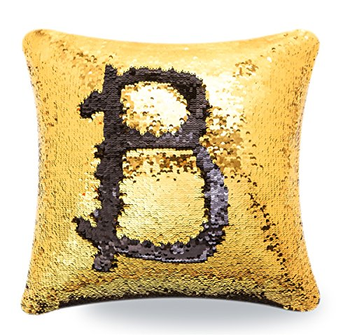 BOOBEI Two Colors Reversible Sequins Mermaid Pillow Cases 1616