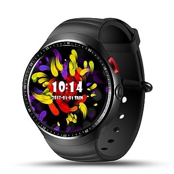 Amazon.com: les1 reloj Smartwatch reloj inteligente Android ...