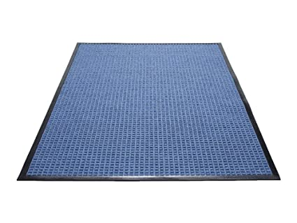 f4acc97f7f3d Guardian WaterGuard Indoor/Outdoor Wiper Scraper Floor Mat, Rubber/Nylon,  2'x3', Blue: Doormats: Amazon.com: Industrial & Scientific