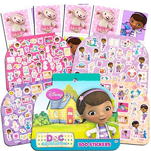 Doc McStuffins Stickers Party Favors Pack -- Over 300 Doc McStuffins Fun Stickers (Party -