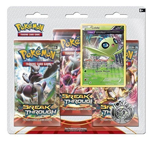 Pokemon TCG: XY - BREAKthrough Three-Booster Blister Pack- (Sealed Blister Pack)