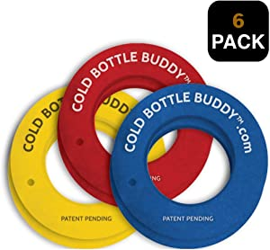 Cold Bottle Buddy Keeps Bottled Beer 3X's Colder than other foam type Holders. Special Foam Flex's to Fit inside 20oz Tumbler Brands like YETI, Ozark Trail, RTIC and More. Fits All Bottle Sizes (6)