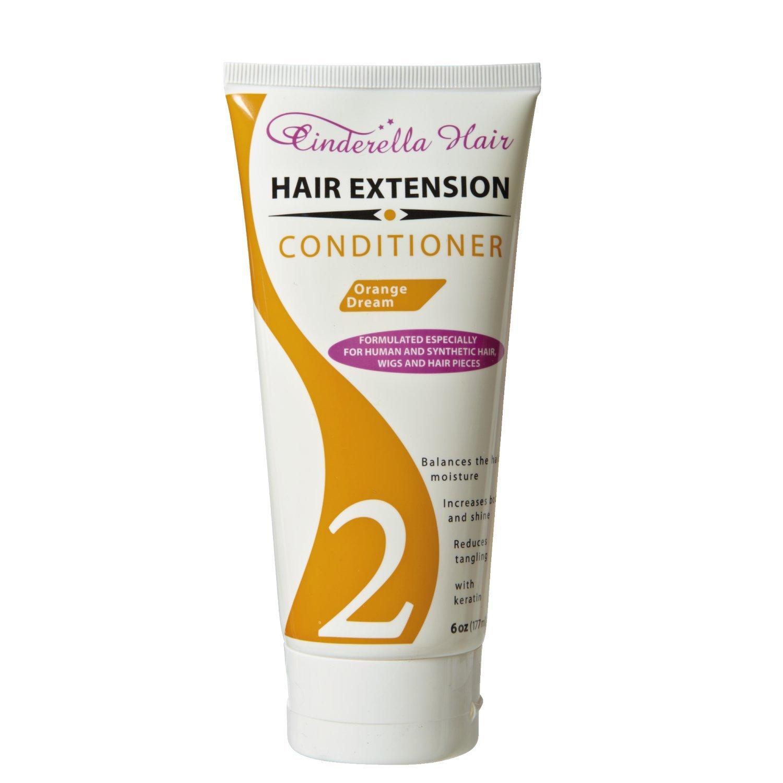 Amazon Orange Dream Hair Extension Conditioner Hair