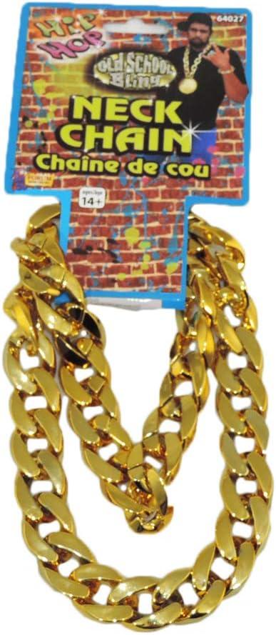 Gold Forum Novelties 80/'s Style Big LInks Neck Chain 64027