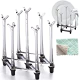 Marbrasse Retractable Cup Drying Rack, Drinking...