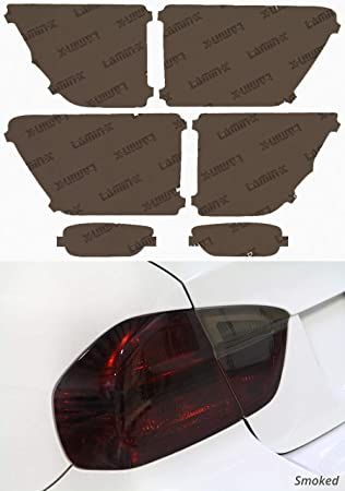 Rear Lower Reflector Blackout Lens Lense Covers for Jeep Grand Cherokee