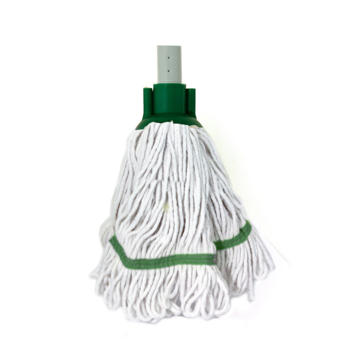 Blue Bentley Industrial HR//BS.35//B Mini Blended Socket Cotton Mop with Cap and Banding