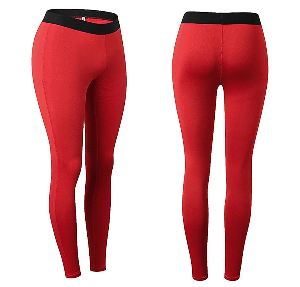 32f5a4e1e013 Rookay High Waist Yoga Running Workout Compression Pants Full Length Ankle  Legging Slim Tights for Women ...