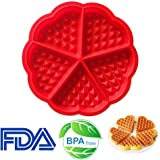 CCINEE Silicone Baking Moulds Waffle Moulds Waffle Maker Baking Mold Bakeware