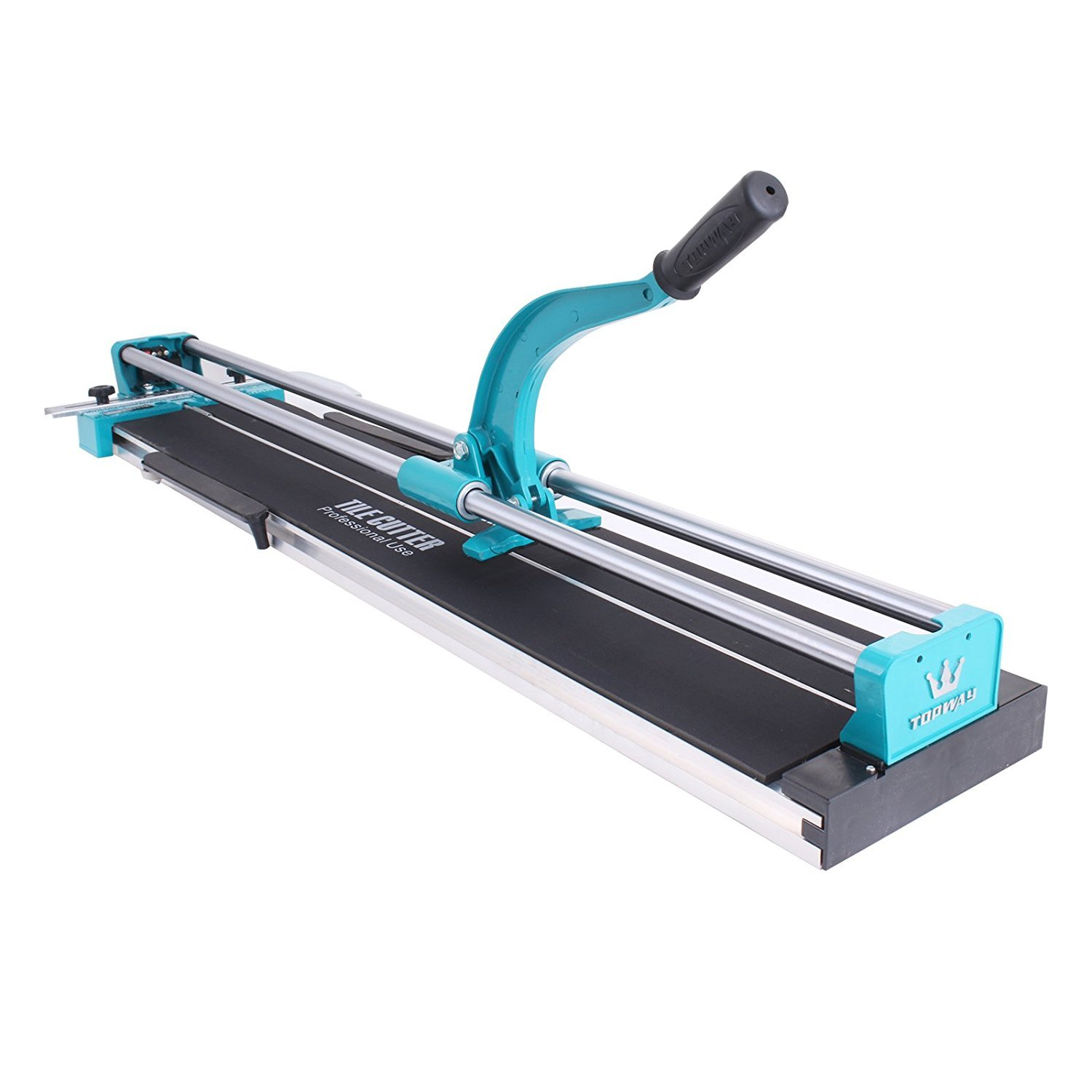TOTOOL 40 Inch Manual Tile Cutter Professional Ceramic Tile Cutter with Solid Steel Rail and Adjustable Laser Guide Floor Tile Cutter for Porcelain and Ceramic Tiles (40 Inch) by TOTOOL (Image #2)