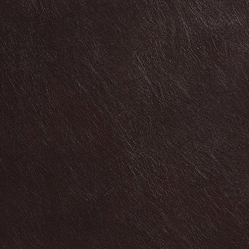 Recycled Leather - G471 Chocolate Brown Upholstery Grade Recycled Leather (Bonded Leather) By The Yard