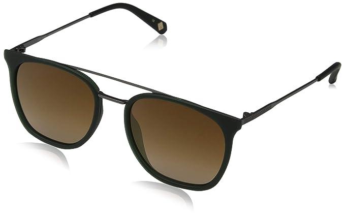 Ted Baker Elkin Gafas de sol, Verde (Racing Green/Brown ...