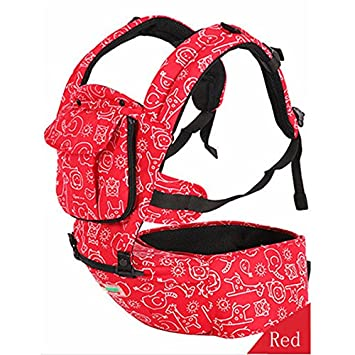 6f8c65316e1 Amazon.com   Baby Carriage Hipseat Sling Wrap Summer and Winter  Multifunction Outdoor Kangaroo Baby Carrier Sling Backpack   Baby